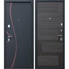 Входная дверь - АСД (3-к) Византия венге (заказная)