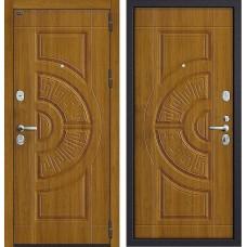 Входная дверь - GROFF P3-312 П-4 Золотой Дуб Winorit
