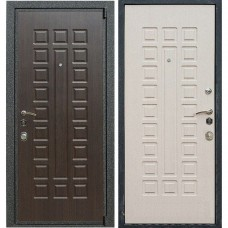 Входная дверь -  Лекс 4А Mottura 3к (Венге / Беленый дуб)