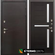 Входная дверь - ЛЕКС  ТЕРМО СИБИРЬ 3К Венге (панель №35)