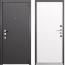 Входная дверь - Mastino FORTE Реалвуд Графит горизонт MS-100, Реалвуд Молочный горизонт MS-100