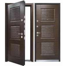Входная дверь - Mastino Monte (Line 3) Темный Венге/Темный Венге