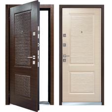 Входная дверь - Mastino Monte ( Line 2) Темный Венге/Светлый Венге