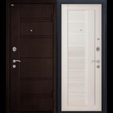 Входная дверь - Входная дверь МеталЮр М17 (эшвайт мелинга)