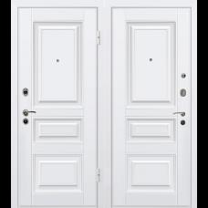 Входная дверь - Входная дверь МеталЮр М11 белая