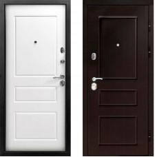 Входная дверь - Гранд 2К винорит венге/белый матовый RAL 9003