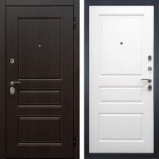 Входная дверь -  Снедо Гранд 2К (Венге винорит / Белый матовый)